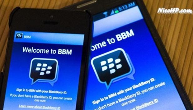 BBM Untuk Android dan iOS di Perbarui Blackberry