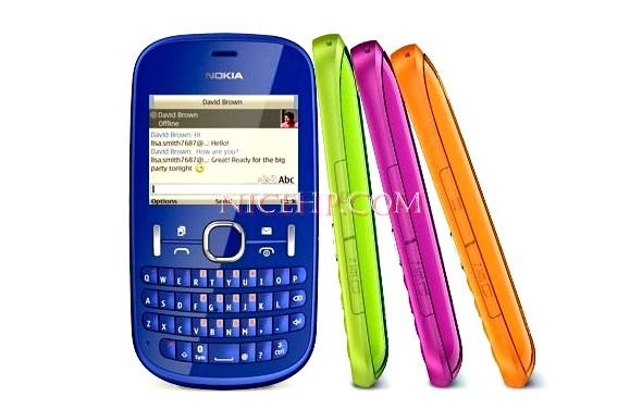 Spesifikasi dan Harga Nokia Asha 200