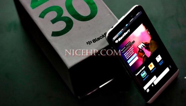 Spesifikasi dan Harga BlackBerry Z30