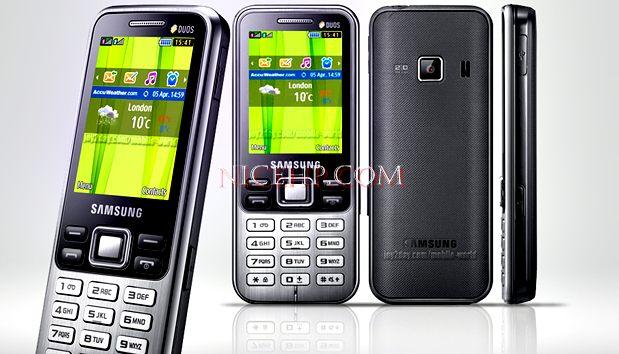 Spesifikasi dan Harga Samsung C3322 Dual SIM