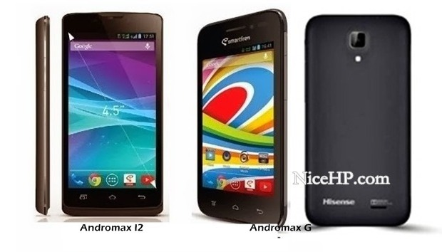 Perbandingan Smartfren Andromax G dan Andromax I2