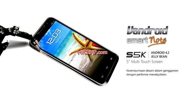 Harga dan Spesifikasi Advan Vandroid S5K
