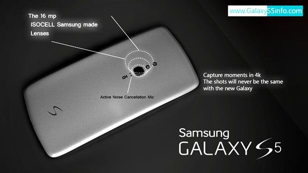 Tampilan dan Spesifikasi Samsung Galaxy S5