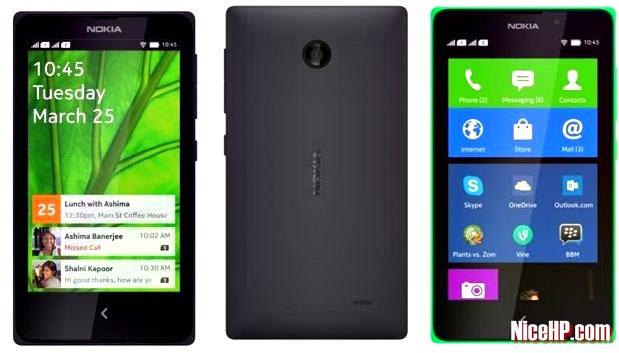 Harga dan Spesifikasi Nokia X+ (X Plus)