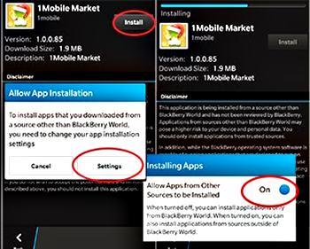 Instal Aplikasi Android Pada BlackBerry 10 1