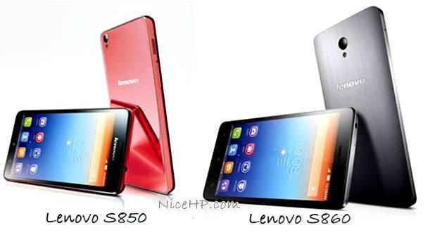 Lenovo S850 dan S860 Diperkenalkan, Harga dan Spesifikasinya?