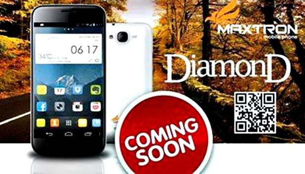 Maxtron Diamond Phablet Quad Core Harga 1 jutaan
