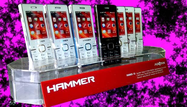 Advan Hammer R3, HP Dual Sim Harga 280 Ribuan