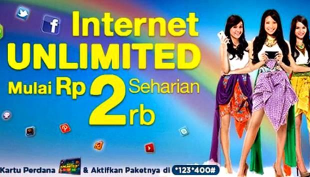 Paket Internet Unlimited XL dan Cara Aktivasinya
