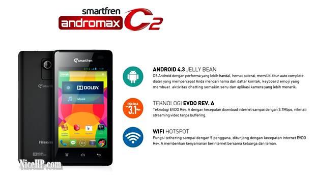 Harga Smartfren Andromax C2 Dan Spesifikasi Lengkap