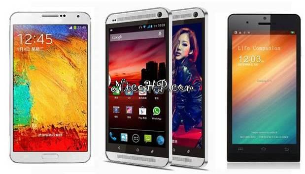 Inilah 5 Smartphone Kloningan Yang Mirip Aslinya
