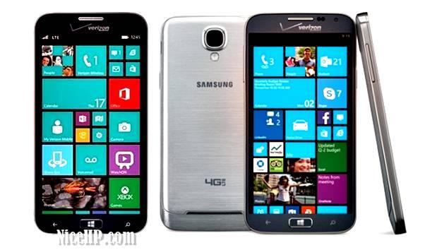 Spesifikasi Samsung Ativ SE, Perangkat Windows Phone 8