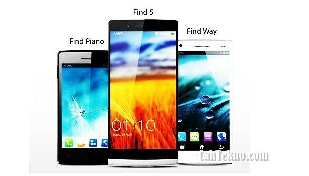 Daftar Harga Oppo Smartphone 2014