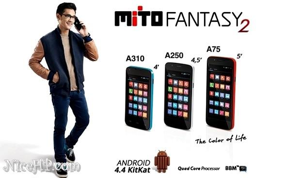 Harga Mito Fantasy 2 Spesifikasi Android KitKat