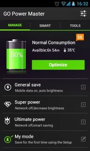 Aplikasi Go Power Master