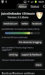 Aplikasi Juice Defender