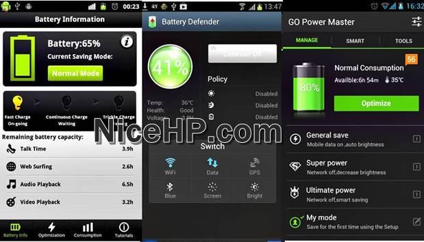 Inilah Aplikasi Penghemat Baterai Android Terbaik
