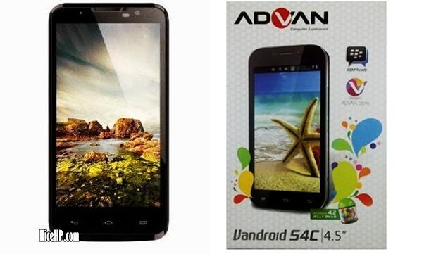 Review Advan Vandroid S4C – Harga Dan Spesifikasi