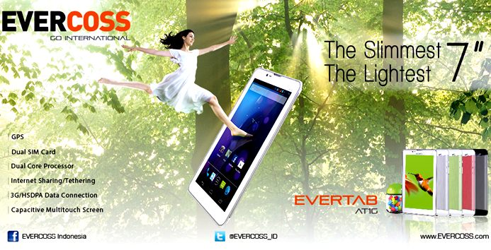 Harga Evercoss AT1G Spesifikasi Tablet Android Murah