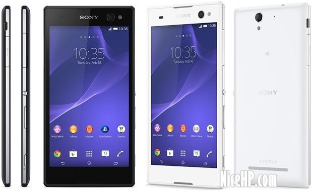 Desain Sony Xperia C3