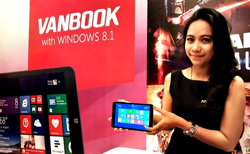 Harga Advan Vanbook W80 Dan W100, Spesifikasi Windows 8.1