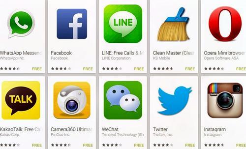Aplikasi Android Populer