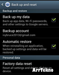 Cara Menghapus Data Android 3