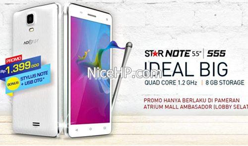Harga Advan Star Note S55 Dan SpesifikasiStar
