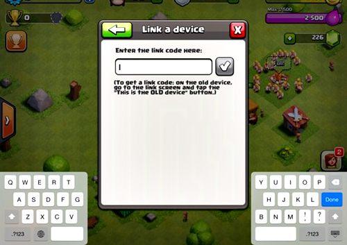 Cara Memindahkan Akun COC Dari Android ke iPhone 2