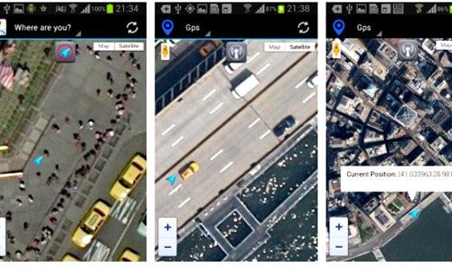 GPS Maps Full Function