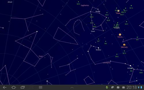 Aplikasi Sky Map