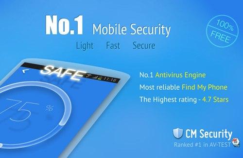 Antivirus Android CM Security