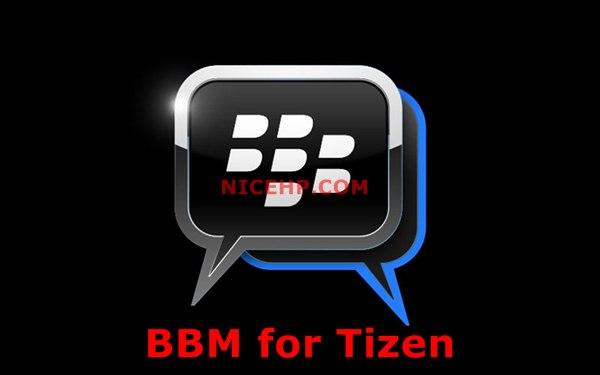 bbm untuk tizen