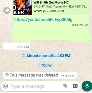 Cara Menghapus / Menarik Pesan WhatsApp yang Sudah Terkirim