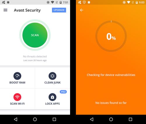 Antivirus Terbaik untuk Android Avast