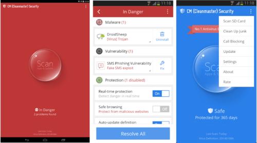 Antivirus Terbaik untuk Android CM Security