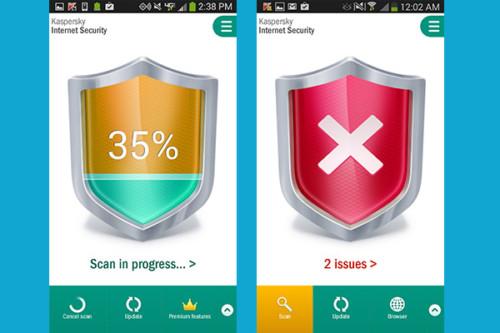 Antivirus Terbaik untuk Android Nougat Kaspersky Internet Security