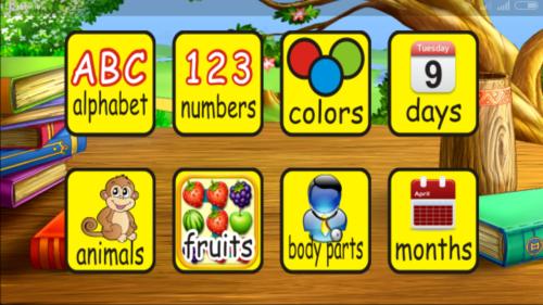 Aplikasi Android utuk Edukasi Anak Belajar Bahasa Inggris Anak