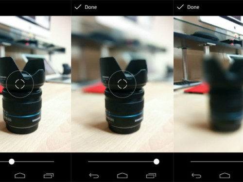Aplikasi Kamera Bokeh di Android Lens Blur