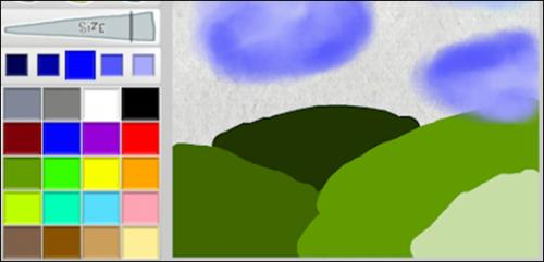Aplikasi Menggambar di Android Paint Splash