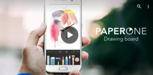 Aplikasi Menggambar di Android Paper One