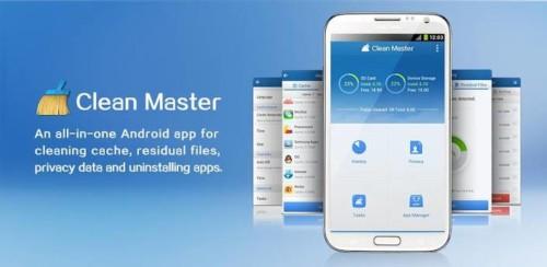 Aplikasi Pendingin Android Clean Master