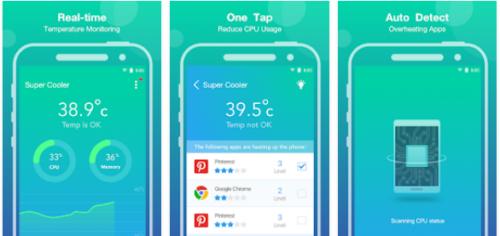 Aplikasi Pendingin Android Super Cooler