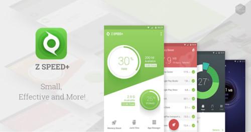 Aplikasi Pendingin Android Z Speed+