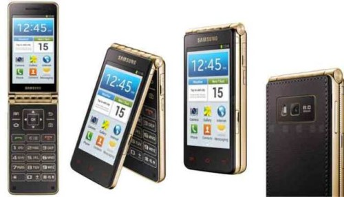 HP Android FLip Lipat Samsung Galaxy W2016