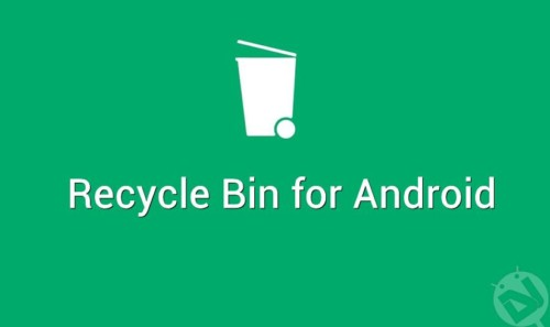 Aplikasi Recycle Bin Android